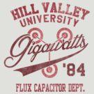 Hill Valley University by Arinesart
