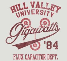 Hill Valley University by Arinesart