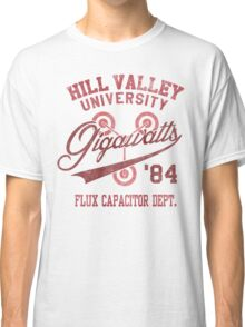 Hill Valley University Classic T-Shirt