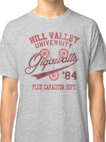 Hill Valley University Classic T-Shirt