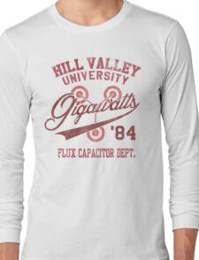 Hill Valley University Long Sleeve T-Shirt