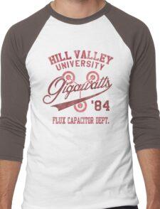 Hill Valley University Men's Baseball ¾ T-Shirt