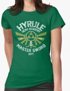 Hyrule Hero Academy Womens Fitted T-Shirt