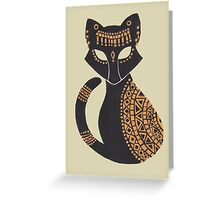 The Egyptian Cat Greeting Card