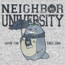 Neighbor University by Arinesart