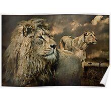Serengeti Pride Poster
