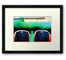 gap. 2 thief Framed Print