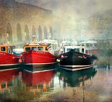 Seahouses Harbour Northumberland by Tarrby