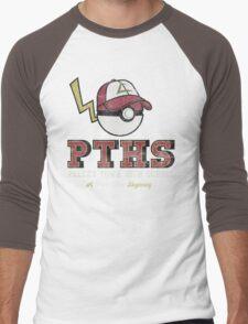 Pallet Town High School Men's Baseball ¾ T-Shirt