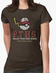 Pallet Town High School Womens Fitted T-Shirt