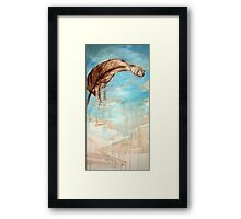 in the air... Framed Print