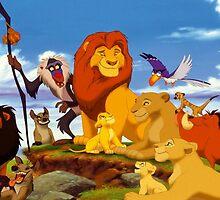 Mufasa's Pride by kiddruba