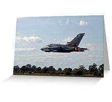 Panavia Tornado GR4 Greeting Card