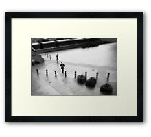 OUR PATHS Framed Print