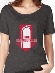 Fire Extinguisher  Women's Relaxed Fit T-Shirt