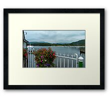 Bowness Flowers Framed Print