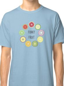 Funky Fruit Circle Classic T-Shirt