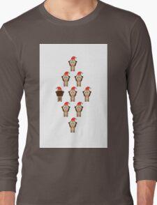 African Xmas - monkey Long Sleeve T-Shirt