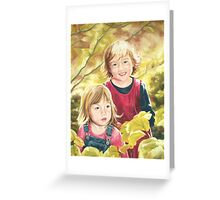 The Sun Is Up Greeting Card