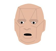 Kryten - Red Dwarf - Inspired Artwork Vector by ComedyQuotes