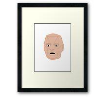 Kryten - Red Dwarf - Inspired Artwork Vector Framed Print