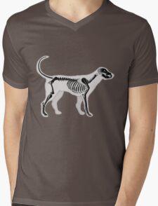 DOG ANATOMY X-RAY Mens V-Neck T-Shirt