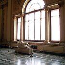 Academy interior, Florence by Elaine Stevenson