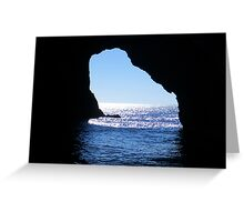 Hole in the Rock Greeting Card