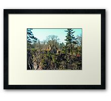 Corra Castle Framed Print
