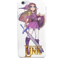 Female Link Purple iPhone Case/Skin
