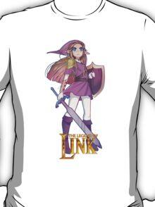 Female Link Purple T-Shirt