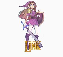 Female Link Purple Unisex T-Shirt
