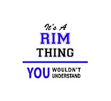 It's a RIM thing, you wouldn't understand !! by thestarmaker