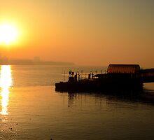 Woodside Ferry Sunrise by Paul Reay