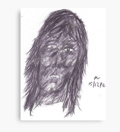 adam Canvas Print
