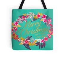 Merry, floral and bright Tote Bag