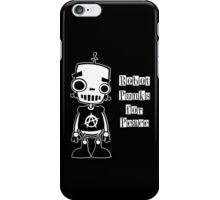Robot Punks for Peace iPhone Case/Skin