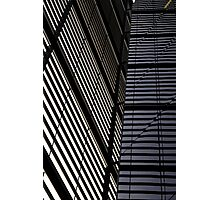Blinds Photographic Print