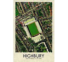Vintage Football Grounds - Highbury (Arsenal FC) Photographic Print
