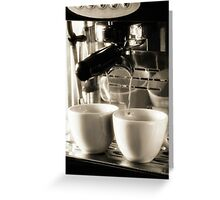 Coffee Lover 3 Greeting Card
