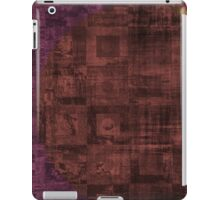 Grungy Rusty Abstract Cube Pattern  iPad Case/Skin