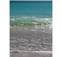 colors of warm water Photographic Print
