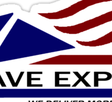 The Mojave Express Sticker