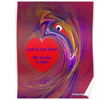 Look in Your Heart Poster