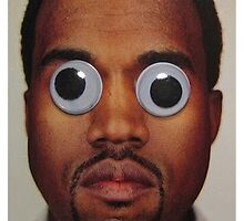 Kanye West Googley Eyes by crookiid