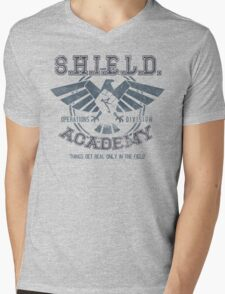 SHIELD Academy (Ops Division) Mens V-Neck T-Shirt