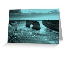 The Island Archway at Loch Ard Gorge Greeting Card