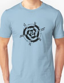 Mandala 3 Back In Black T-Shirt