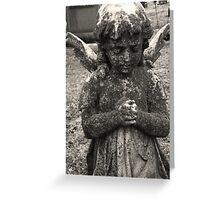 Stone Angel Greeting Card