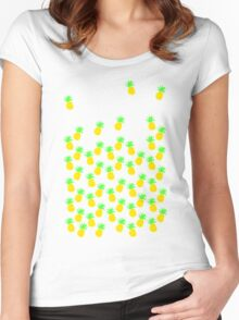 Prickly Pineapple Women's Fitted Scoop T-Shirt